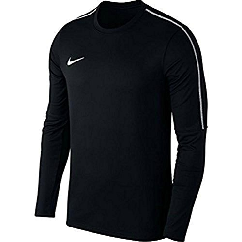 Nike Herren Dry Park 18 Langarmshirt, Schwarz (Black/White), L