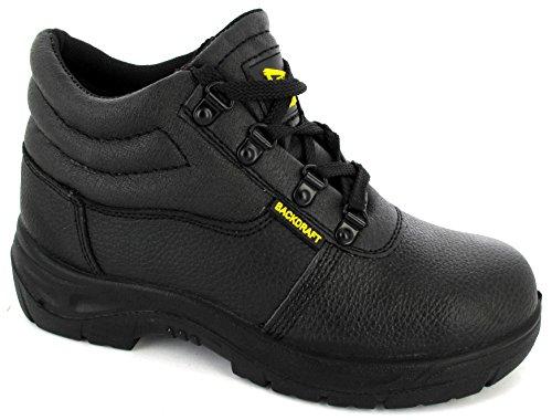Unknown ,  Herren chukka_boots , Schwarz - schwarz - Größe: 39.5 Eye Steel Toe Boot