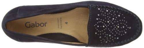211 84 Mokassins 13 Blau Damen Gabor Shoes Gabor qzZppP