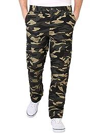 Herren Cargo Combat Camouflage Hose