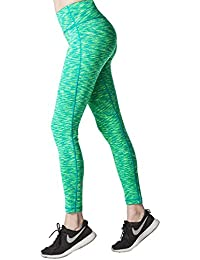 Lapasa Legging Pantalon de Sport Femme Yoga Fitness Gym Pilates Gaine large