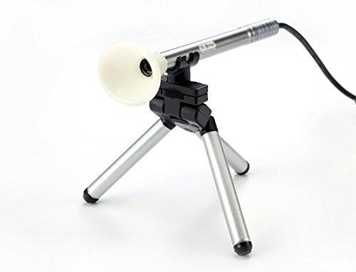 Dr.Meter B003 300X USB Digital 2.0 MP Pocket Pen Mini HD Manual Focus Microscope Endoscope Magnifier Camera Loupe Otoscope w/Health Beauty Inspection Tools and Tripod LED