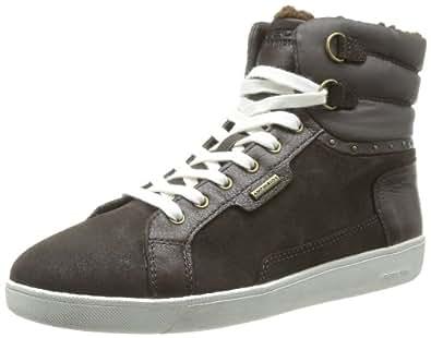 Geox D HOPE ABX M D34E5M02346C6009, Damen Sneaker, Braun (COFFEE C6009), EU 36