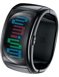 755875027d2a ODM Spin - Reloj digital de mujer de cuarzo con correa de silicona azul -  sumergible a… ODM DD109-1 - Reloj digital de cuarzo unisex