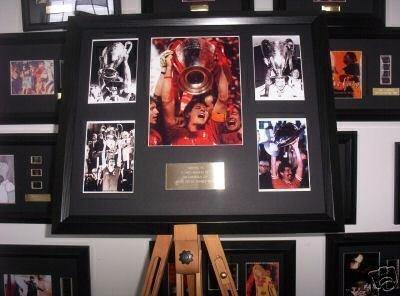 Liverpool FC europea display Football memorabilia