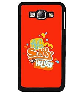 PRINTSWAG TEXT Designer Back Cover Case for SAMSAUNG GALAXY A8