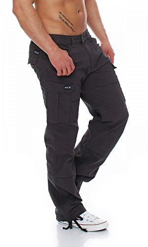 Big Seven–brian–Tubo Comfort Fit–XXL–Herren Jeans Anthra