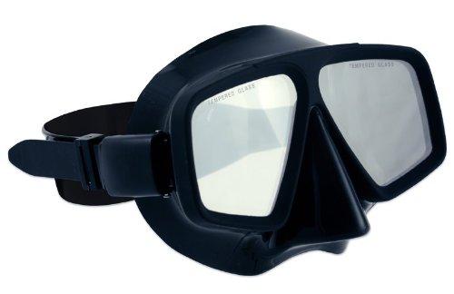 Salvas Tauchmaske Eclipse BK, schwarz, senior, CA096N2