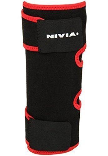 Nivia Adjustable Knee Support (Black)