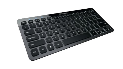 Logitech Bluetooth Illuminated Keyboard K810 (QWERTZ, deutsches Tastaturlayout)
