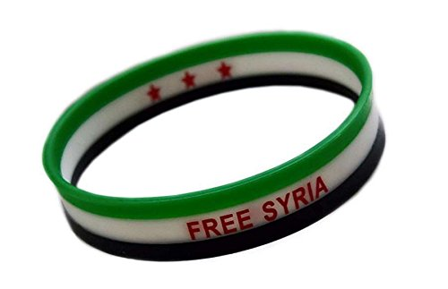 TPM SYRIEN FREE SYRIA - Armband Silikon