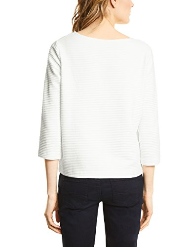 Street One Damen Sweatshirt Weiß (Off White 10108)