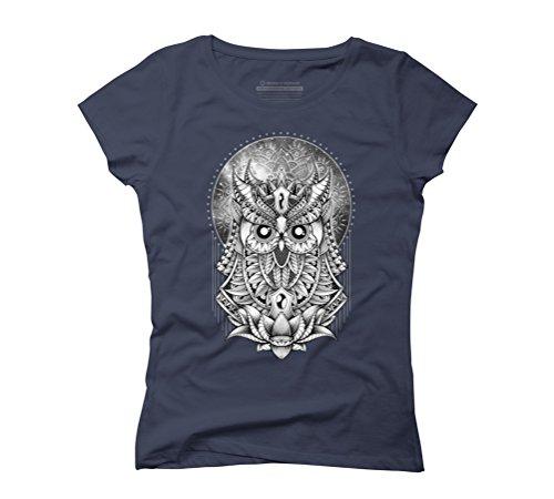 Venus Women's Graphic T-Shirt - Design By Humans Navy