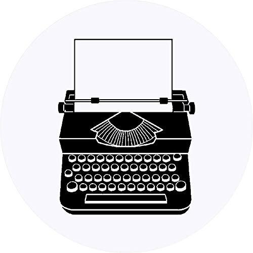 Azeeda 24 x 40mm Runden 'Schreibmaschine' Aufklebern / Stickers (SK00000969)