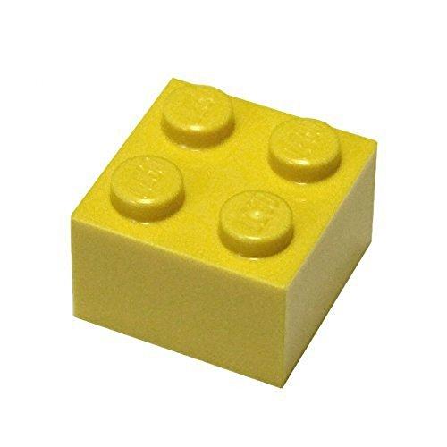 LEGO City - 100 gelbe Steine mit 2x2 Noppen