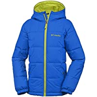 Columbia Boys Winter Jacket Gyroslope, Größe:2XS, Farbe:Super Blue/Zour