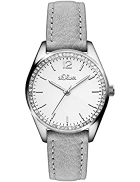 s.Oliver Time Damen-Armbanduhr SO-3322-LQ