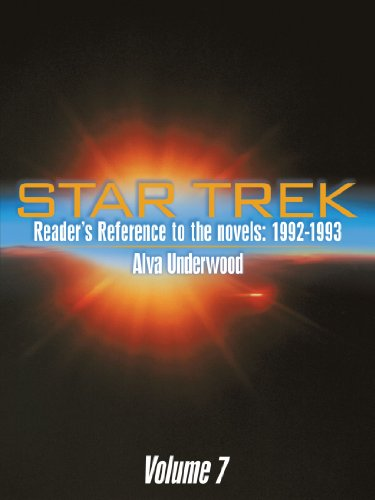 Star Trek Reader's Reference to the Novels Cover Image