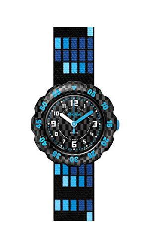 Flik Flak Jungen Analog Quarz Uhr mit Kunststoff Armband FPSP036