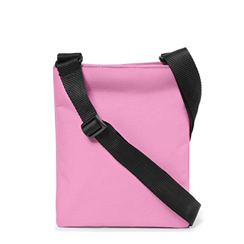 Eastpak, Unisex Umhängetaschen Rusher, 1.5 liters, Schwarz (Black), 23 x 18 x 2 cm Coupled Pink