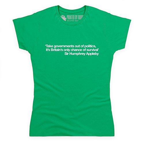 Chance of Survival T-Shirt, Damen Keltisch-Grn