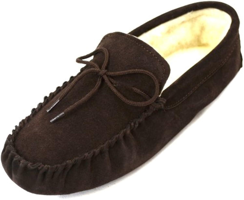 SNUGRUGS - Zapatillas de estar por casa para mujer marrón marrón