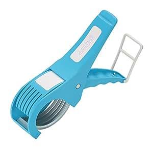 Amiraj Plastic Vegetable Cutter, White/Blue