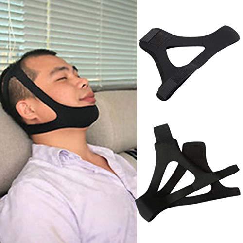 Gzeagf Anti-Schnarch-Ausrüstung 1PCS Dreieck Anti-Schnarchen Kinn mit Schnarchen, Schnarchgürtel Schlafapnoe Lösung Kinnstütze mit Schlafhilfe New