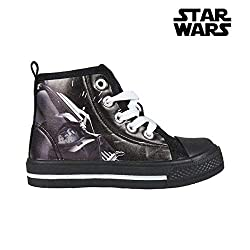 Cerdá Jungen Star Wars Darth Vader Hohe Hausschuhe, Schwarz (Negro C02), 31 EU