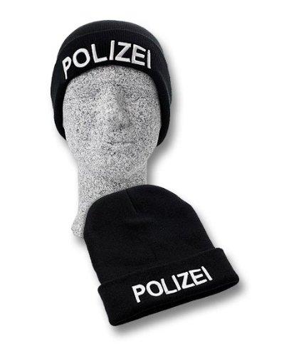 TacFirst Mütze Polizei Schwarz, 1 ()