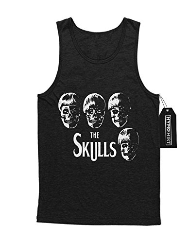 Tank-Top The SKULLS Beatles Parody H549332 Schwarz M (Paul Sgt Pepper Kostüm)