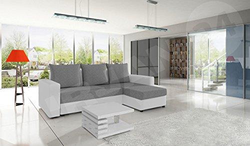 Ecksofa Top Lux! Sofa Eckcouch Couch! mit Schlaffunktion