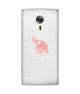 Pink Elephant Alcatel One Touch Flash 2 Case