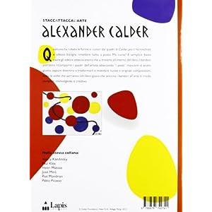 Alexander Calder. Con adesivi