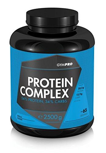 Protein Complex - All In One - Mix aus Protein und Kohlenhydrate (Vanille, 2500g)