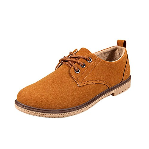 Men's High Quality Oxford Shoes yellow