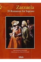Descargar gratis Zarzuela: 20 Romanzas For Soprano en .epub, .pdf o .mobi