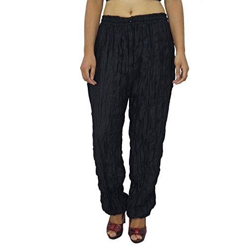 Pantalons pour femmes Yoga Harem Aladdin Pantalon Casual Alibaba Harem Noir