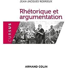 Rhétorique et argumentation - 3ed