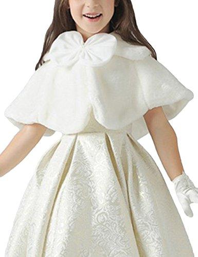 dragonpad-girls-faux-fur-princess-shrug-crop-cape-coat-for-wedding-gown-white-s