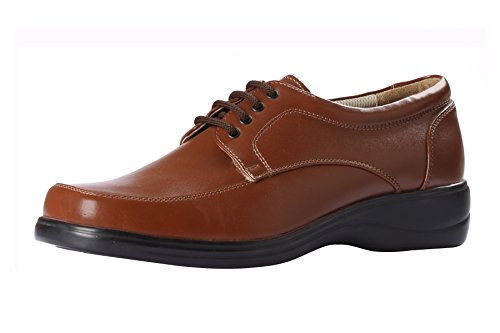 Gliders Men's Brown Formal Shoes - 6 UK/India (39 EU)