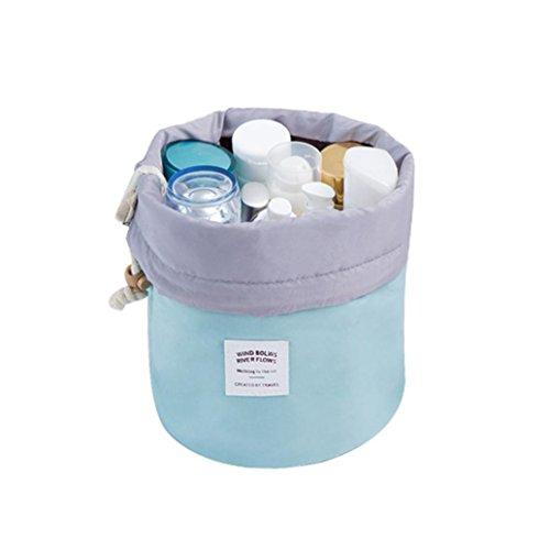 Solike Kosmetische Schmuck Wash Hänge Kulturbeutel Make-up Reise Aufbewahrungstasche Fall (Blau) (Billige Eine Andere Handtasche)