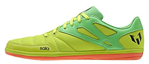 adidas Messi 15.4 Street, Chaussures de Foot Homme, EU Multicolore - Varios colores (Verde / Negro (Seliso / Limsol / Negbas))