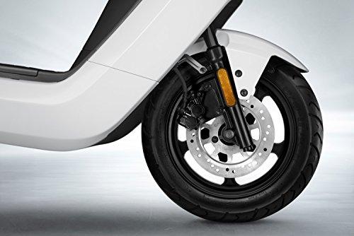 NIU N1S Elektroroller E-Scooter - Panasonic Li-Ion Akku - 80 km Reichweite - Bosch Motor - 45 km/h - Zweisitzer // angeboten von RollingBull® (schwarz) - 8