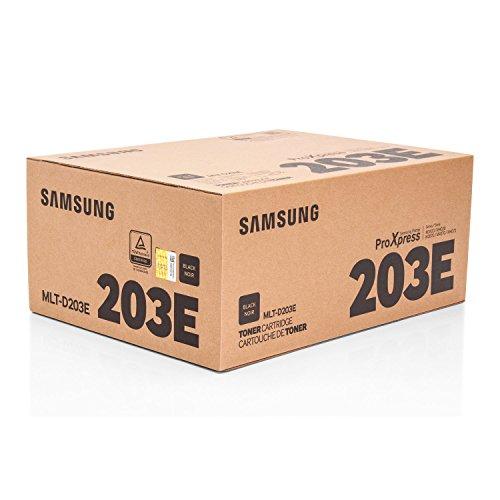 Preisvergleich Produktbild Original Toner passend für Samsung ProXpress M 3820 ND Samsung 203E MLTD203E , MLT-D203E/ELS , MLTD203EELS - Premium Drucker-Kartusche - Schwarz - 10.000 Seiten