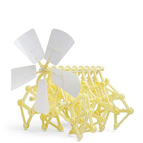 1pc Wind-Powered Strand Beast Modell Roboter DIY Assembly Walker Education Toy Kit Erwachsenen-Science-Serie die Wind Energie ewige BewegungsMaschine Spielzeug - Erwachsenen-modell-kits