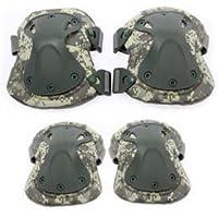 KT SUPPLY KT 4X Protecciones de rodilleras coderas para moto ciclismo montañismo militares táticos al aire libre deportes