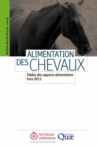 Alimentation des chevaux : Tables des apports alimentaires Inra 2011. par William Martin-Rosset