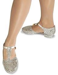 Roch Valley GGS - Zapatillas de baile con purpurina