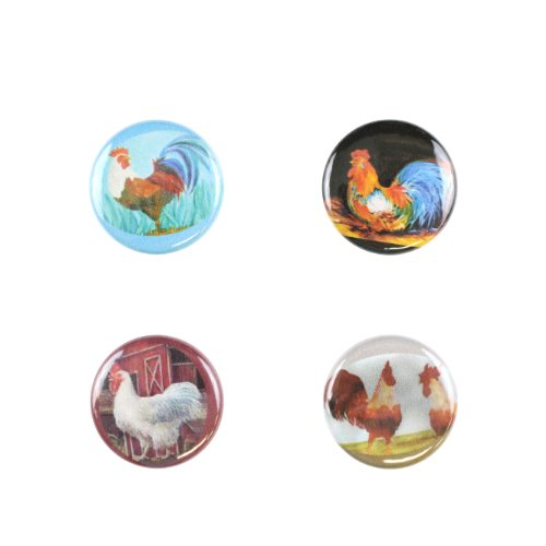 Il Bere C-ROOS-C Wein und Getr-nke Charms Animal Collection - Hahn Ruf des